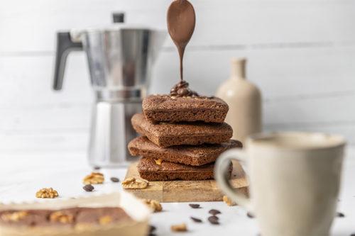 Brownie de chocolate con Nocilla, La Petite Brioche Valencia