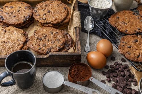 Cookies de chocolate doble, galletas, La Petite Bricohe
