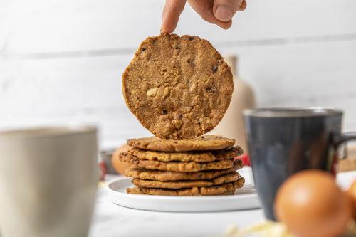 Cookies de chocolate blanco y frambuesas, galletas, La Petite Brioche