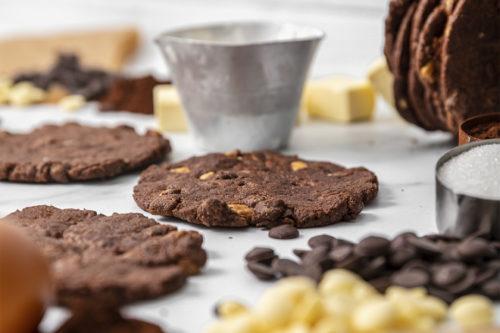 Cookies trimple chocolate, galletas, La Petite Brioche