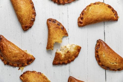 Empanadillas de queso y cebolla, La Petite Brioche