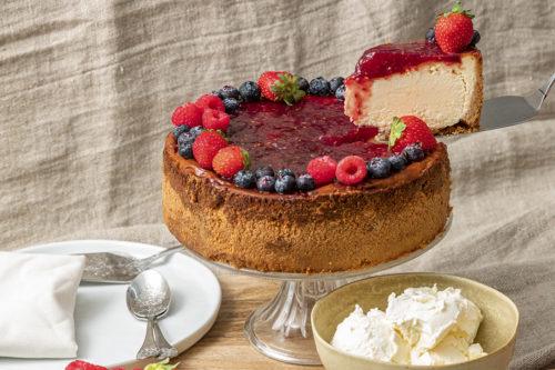 Tarta New York Cheescake, La Petite Brioche