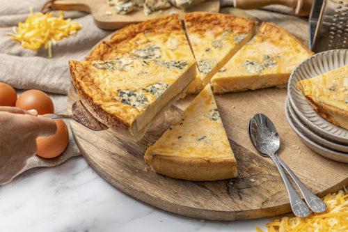 Quiche Cuatro quesos, La mejor Quiche en Valencia, La Petite Brioche Valencia