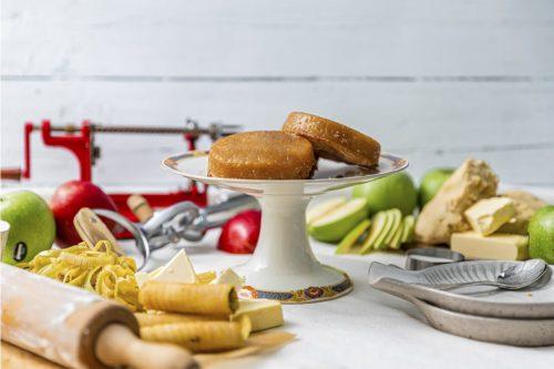 Tartaletas Tatin de manzana caramelizada y masa hojaldrada, La Petite Brioche Valencia