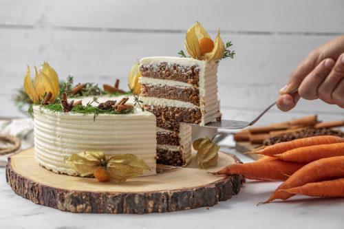 Tarta Carrot, Tarta de Zanahoria, La Petite Brioche